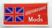 Mods - 'Staffordshire' Woven Patch